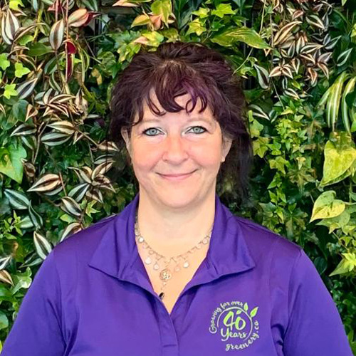 Greenery Office Interiors an interior plant design and office plant rental company serving Calgary photo of Elaine