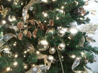 Greenery Office Interiors Christmas Tree Theme photo